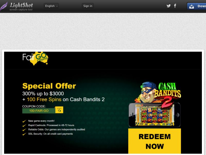 Fairgo Casino (AU) (CPS) (Personal Approval)