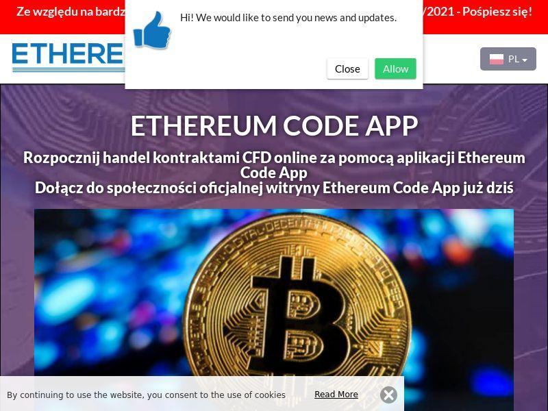 Ethereum Code App Polish 3287