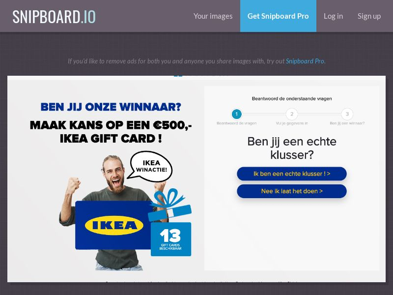 39366 - NL - OnlineWinAction - IKEA (With Prelander) - SOI 21+