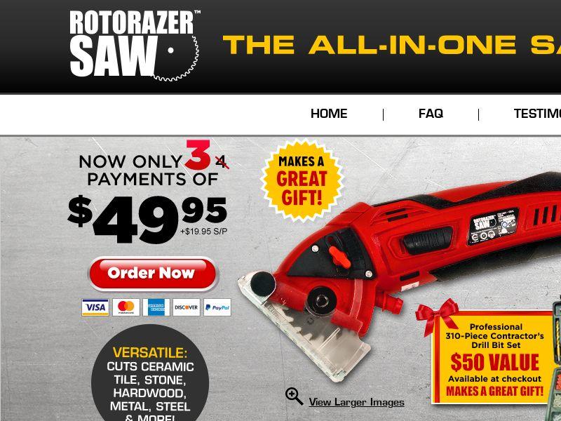 Rotorazer Saw - [US,CA]