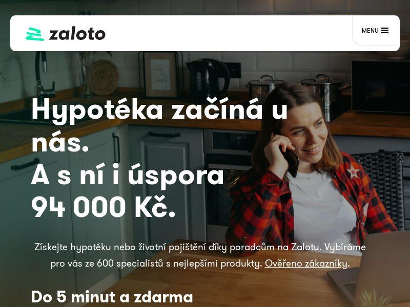 Zaloto - CZ (CZ), [CPA]