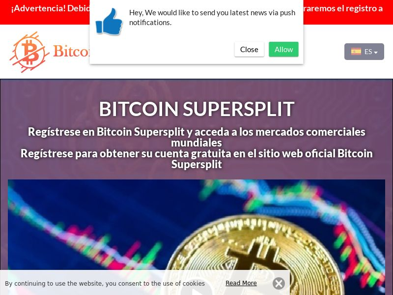 Bitcoin Supersplit Spain 3608
