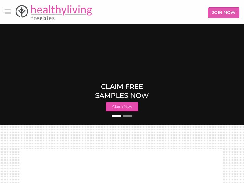 Healthy Living Freebies - US - DIRECT