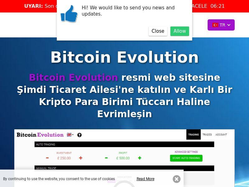 Bitcoin Evolution Pro Turkish 2498