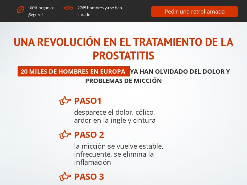 ProstEro ES - prostatitis, adenoma and hyperplasia product