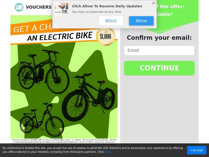 Electric Bike - US (CPL) SOI