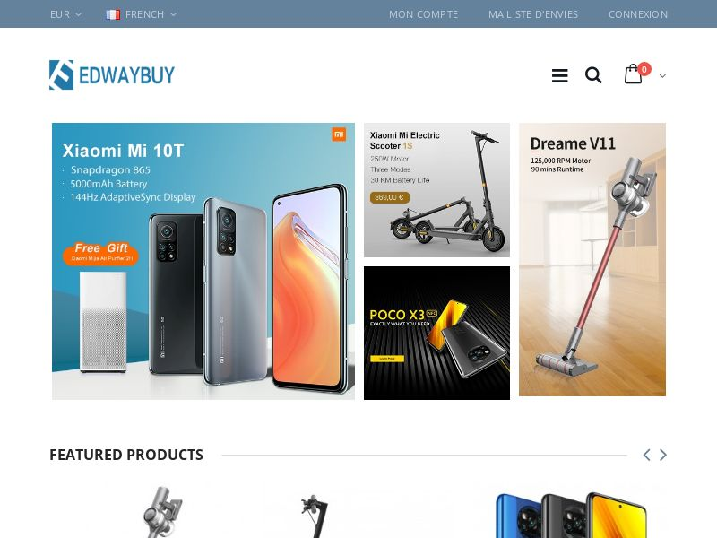 Edwaybuy - FR (FR), [CPS], Appliances and Electronics, Telephones and accessories, Sell, shop, gift