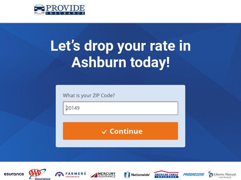 US -Provide Auto Insurance - CPL