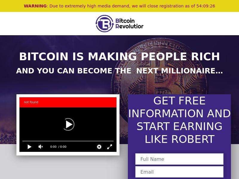 Bitcoin Revolution CPL HK