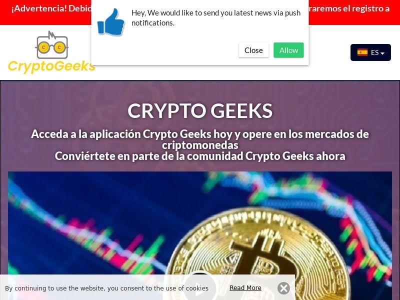 Crypto Geeks Spanish 4153