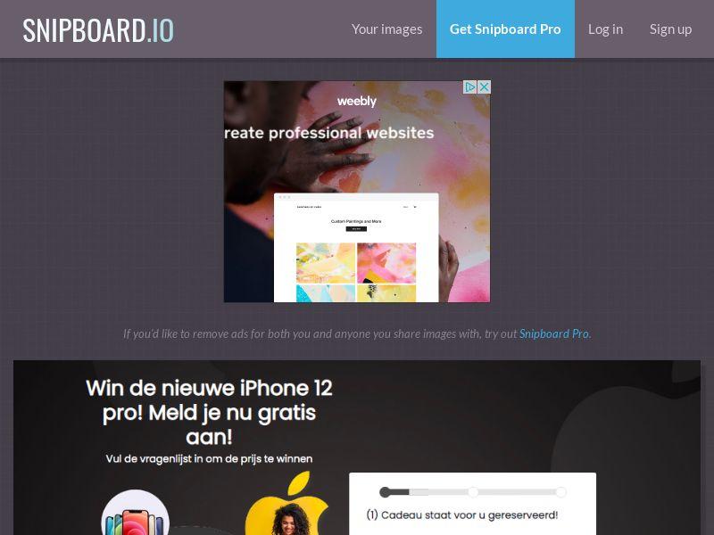 WinAds - iPhone 12 Pro NL - SOI