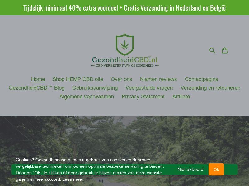 NL - Gezondheid CBD - (BENL)