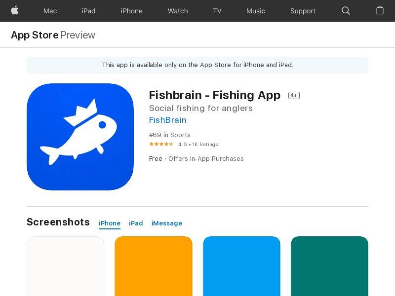 Fishbrain IOS US