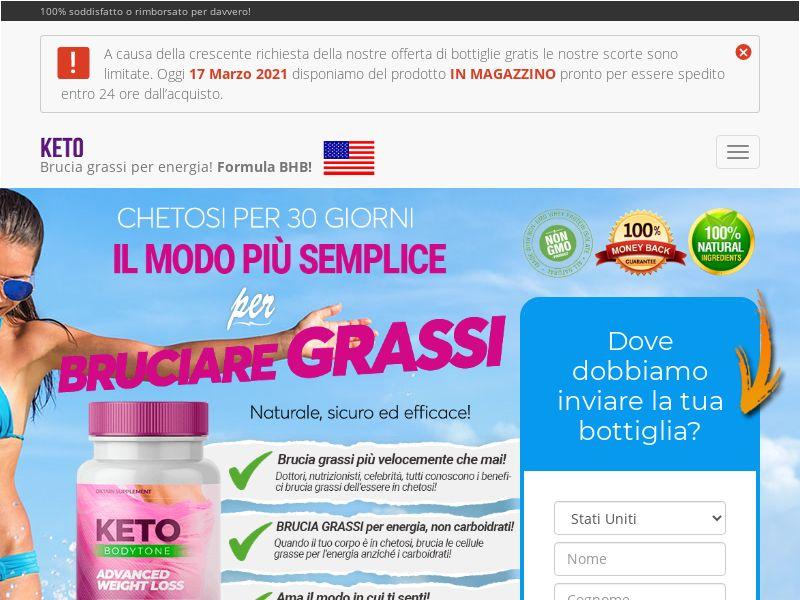 Keto BodyTone - Direct Link - Italian [INTL] (Banner,Native,Search,PPC,SEO,Social) - CPA {No UK/AU-NoBB}