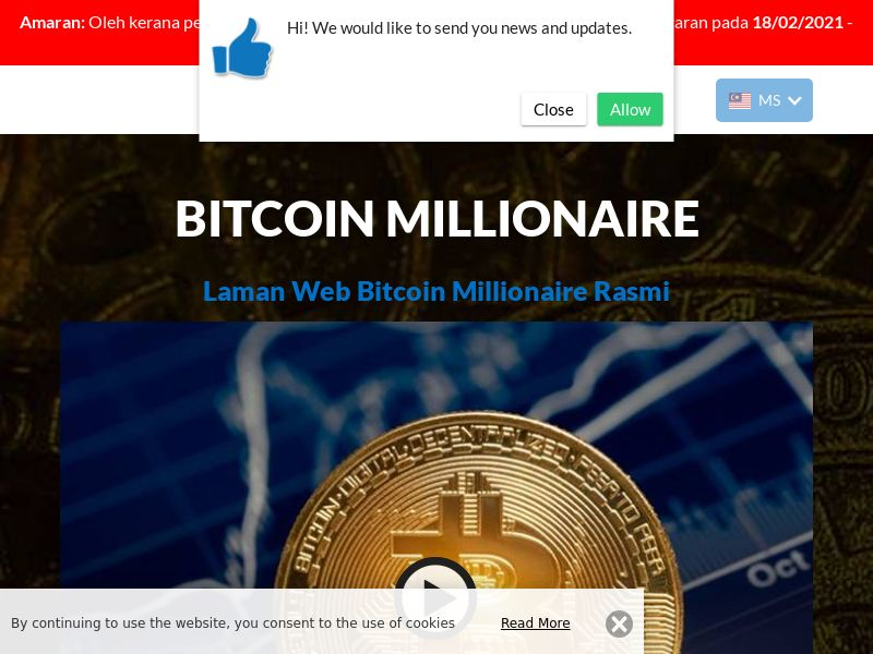 The Bitcoin Millionaire Malay 2784