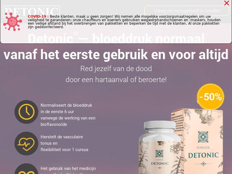Detonic NL (hypertension)