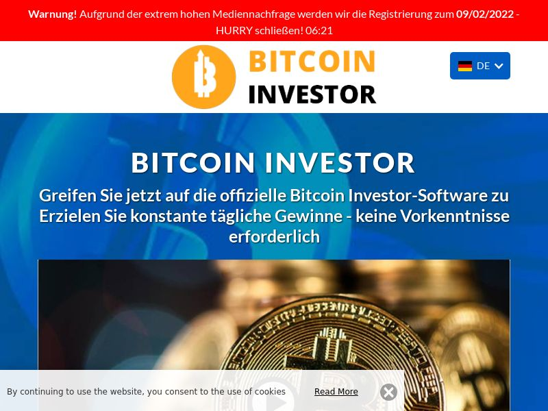The Bitcoin investor German 1408