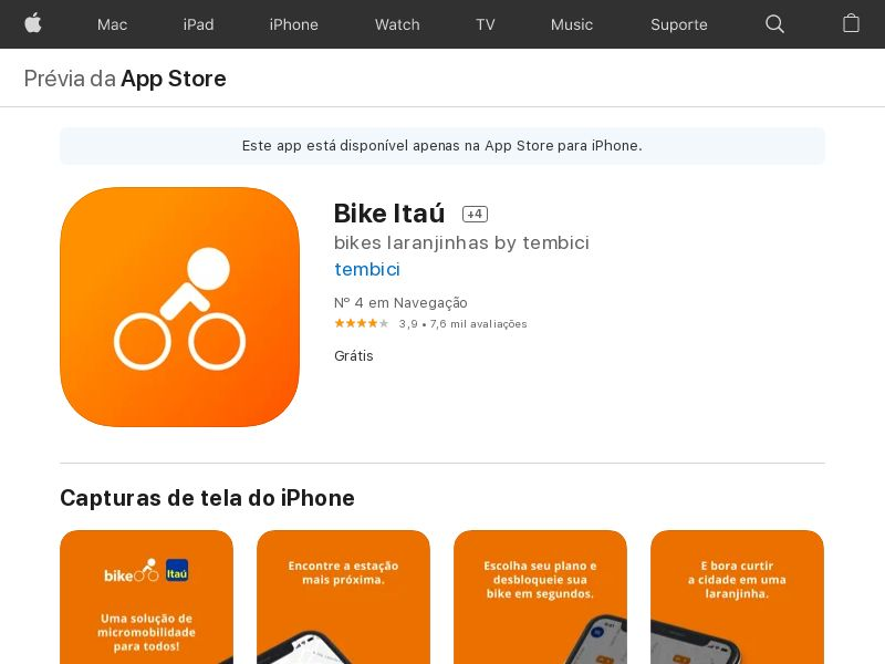 TemBici BR iOS CPA (CT)