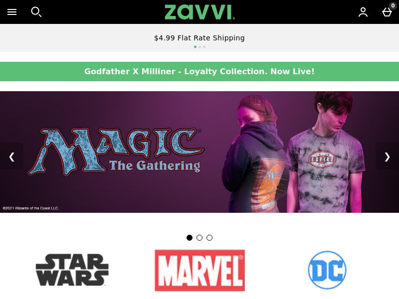 Zavvi (US), [CPA | CPS], Entertainment, Movies & VOD, Fashion, Clothes, Accessories and additions, Accessories, Appliances and Electronics, Telephones and accessories, Sell, cinema, tv, series, film, stream, shop, gift