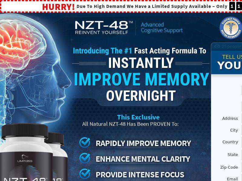 Brain - NZT-48 | Sale | USA