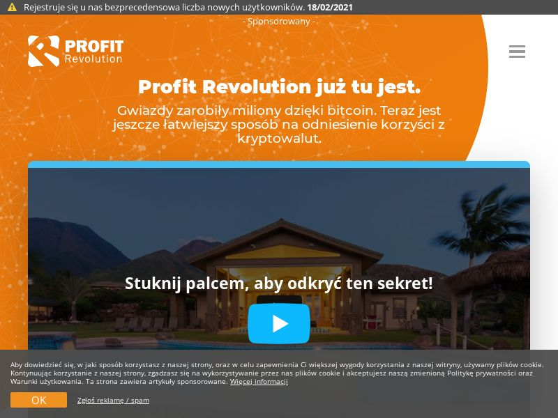 Profit Revolution PL (PL), [CPA], Business, Investment platforms, Cryptocurrencies, Financial instruments, Deposit Payment, bitcoin, cryptocurrency, finance, money
