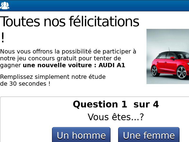 10496) [WEB+WAP] Audi A1 - FR - CPL