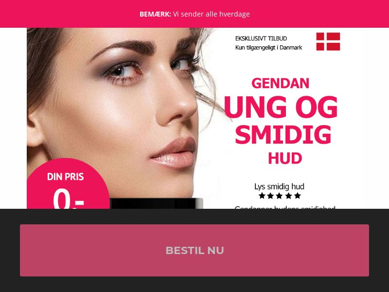 Anti Aging [DK] (Email,Social,Banner,Native,Push,SEO,Search) - CPA