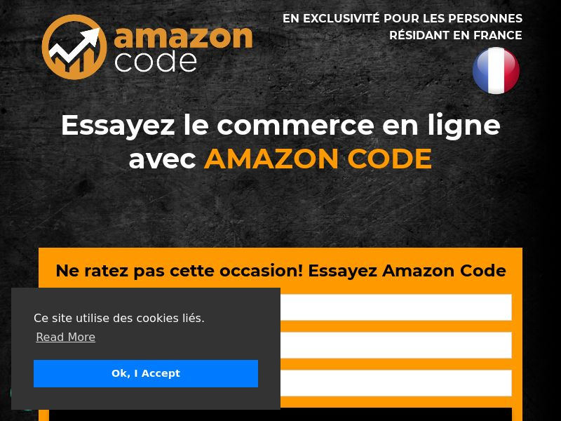 FR - AMAZON CODE - CPL - LP SHORT