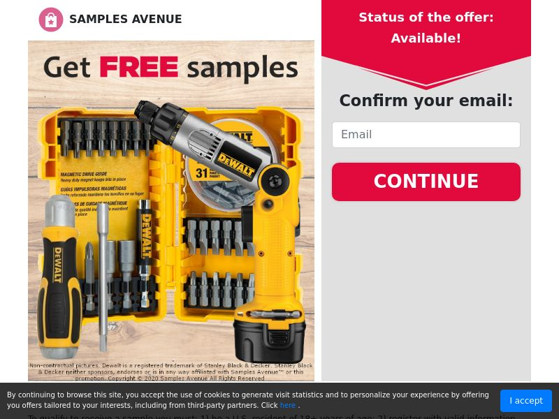 Get a Free Tool Set - Sweepstakes - US