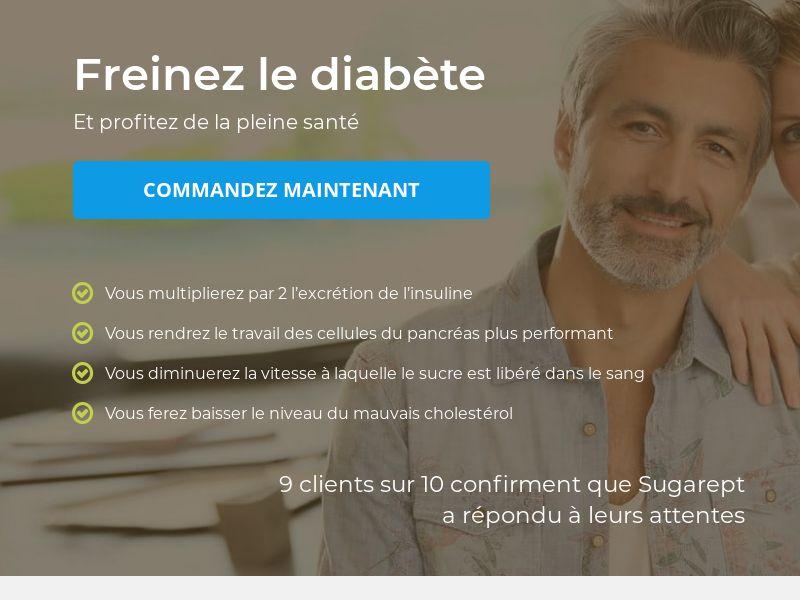 Sugarept: Blood Sugar balance - CPL - Desktop & Mobile [FR]