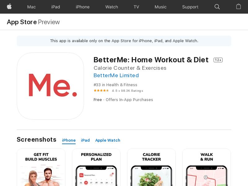 ! BetterMe iOS USA CPA