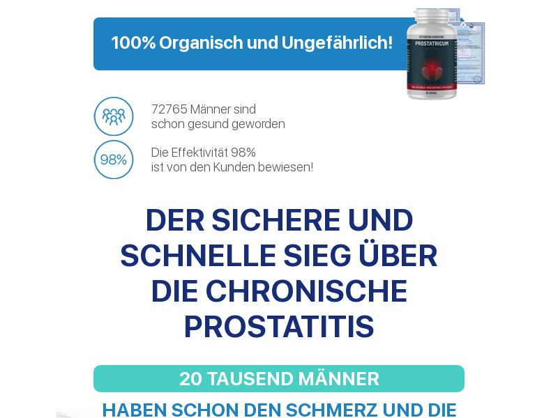Prostatricum DE