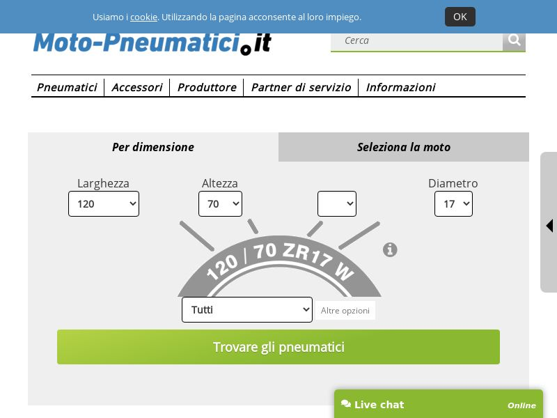 moto-pneumatici.it - IT (IT), [CPS], Motoring, Car parts, Car accessories, Services, Sell, moto