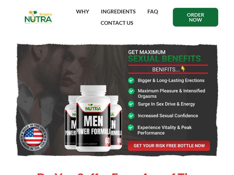 Men Power Formula (SS) - Male Enhancement - US (V2) [Exclusive]