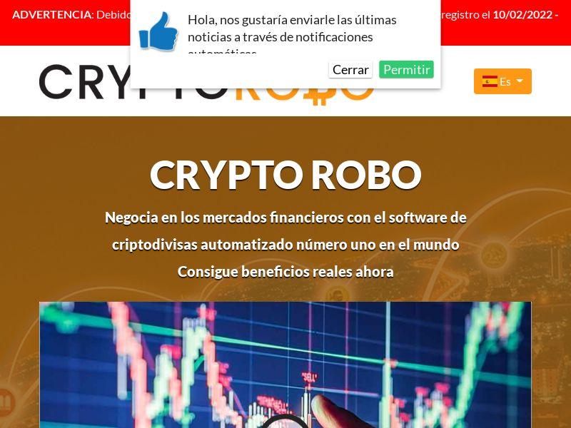 Crypto Robo Pro Spanish 943