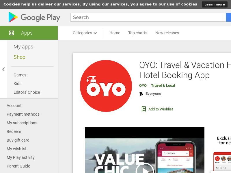 OYO - US - Android (CPT= Cost Per Checkin )