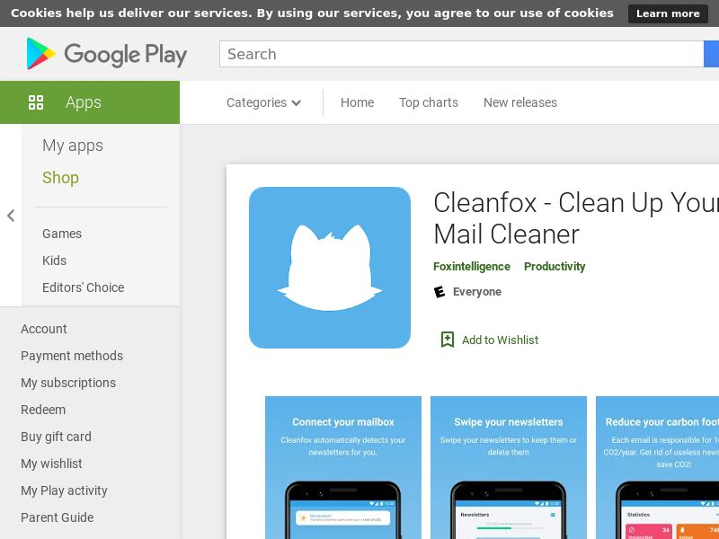 Cleanfox - Clean Up Your Inbox - Mail Cleaner