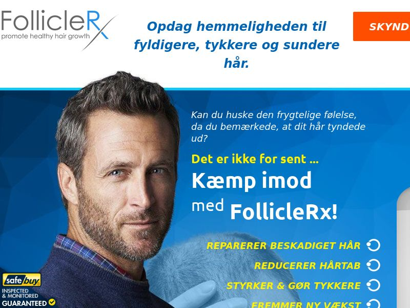 FollicleRx LP01 (Danish) - Male - Hair