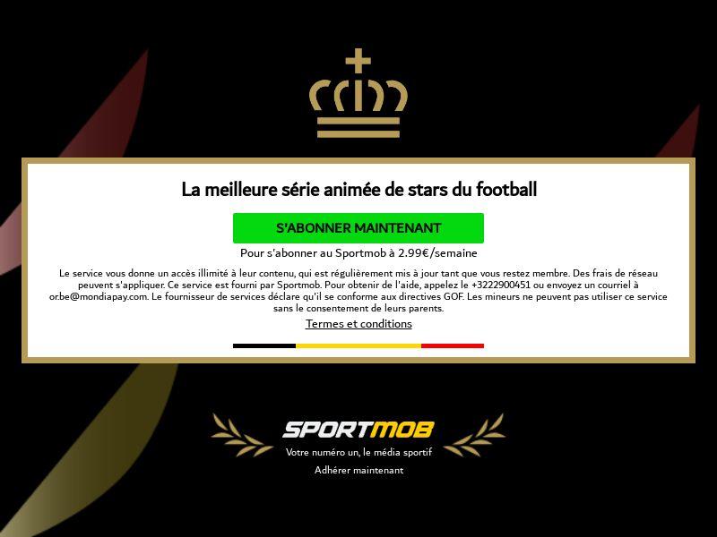 Sportmob Toons - Orange - BE (BE), [CPA]