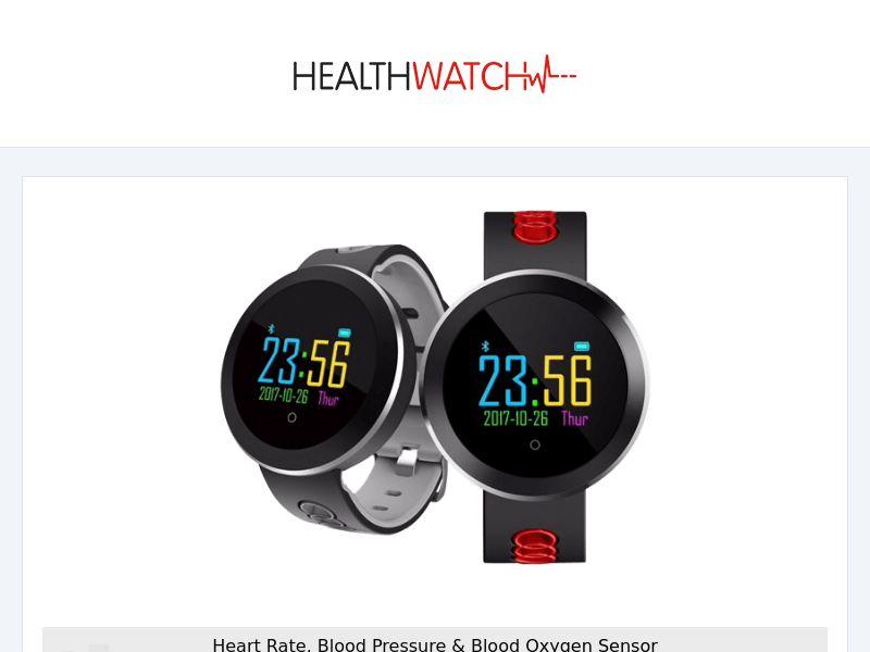 HealthWatch - Smart & Fitness Watch - CPA - [INTERNATIONAL]