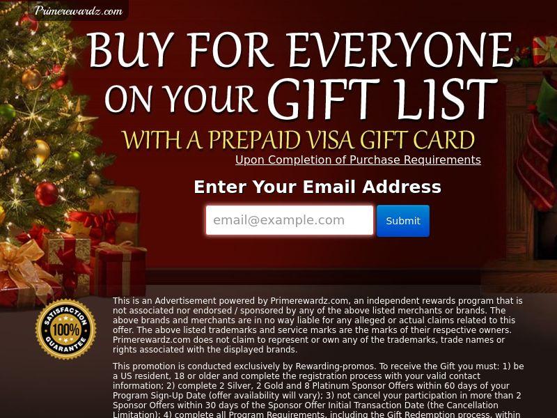 Christmas Visa - Network - US - CPL - DIRECT