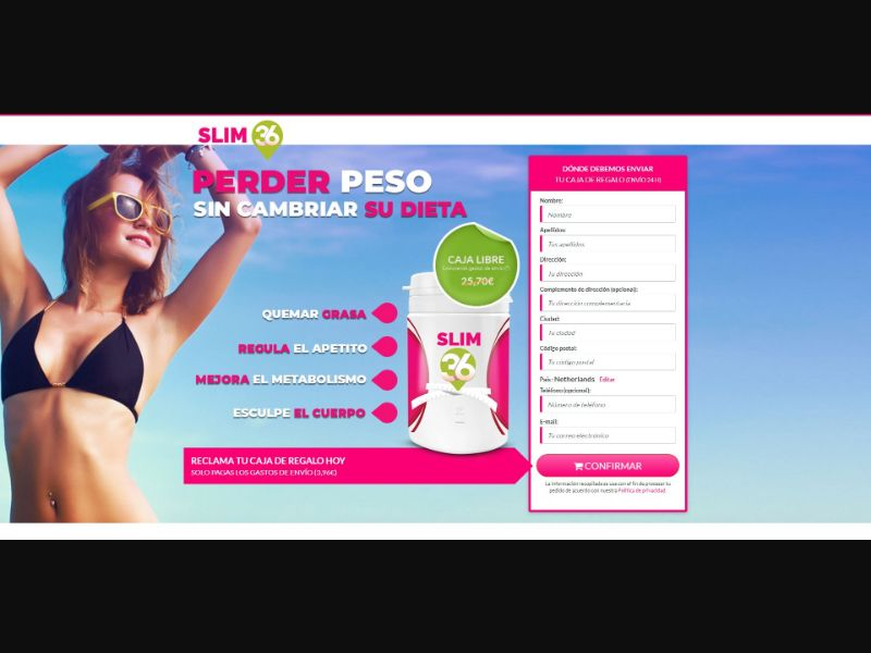 Slim 36 - Diet & Weight Loss - Trial - [ES]