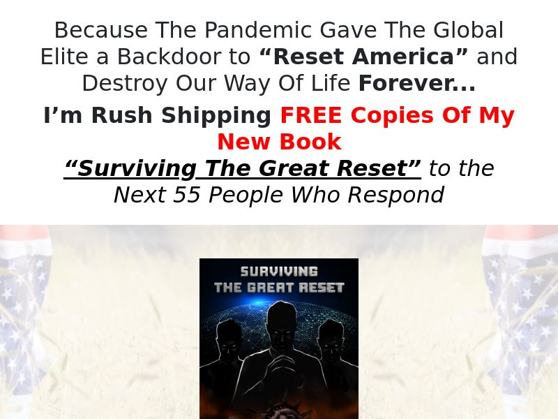 The Great Reset eBook (Free + processing) (US)