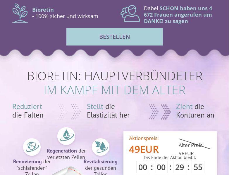 Bioretin DE - rejuvenating cream mask