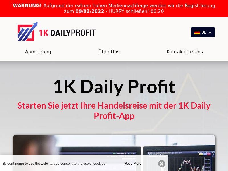 1K Daily Profit German 1061