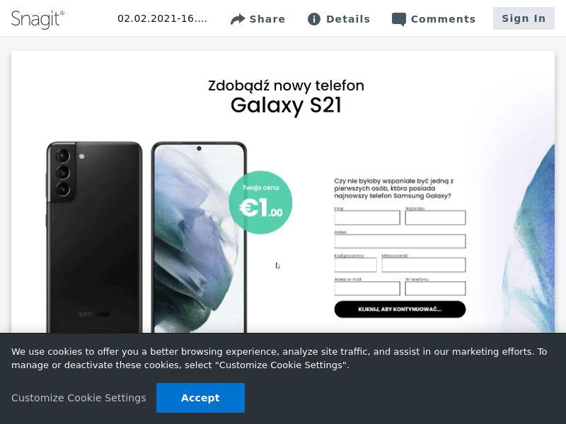 feelinglucky Samsung Galaxy S21 | PL