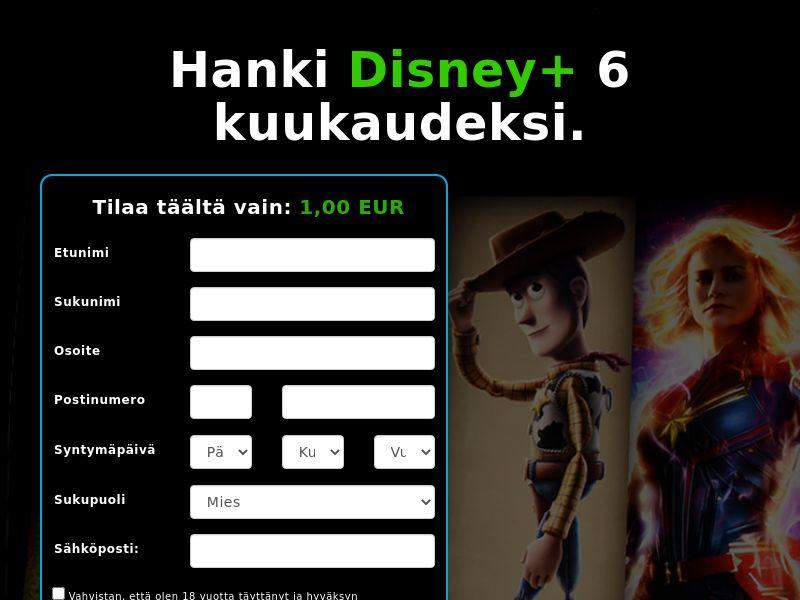 Disney+ (6 Month) - FI