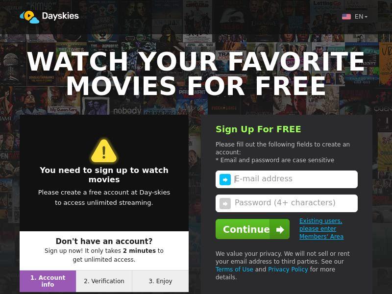 AdCenter Movies Shortflow (PT) - CPA, VOD, Free Trial, CC Submit, Multi-Geo
