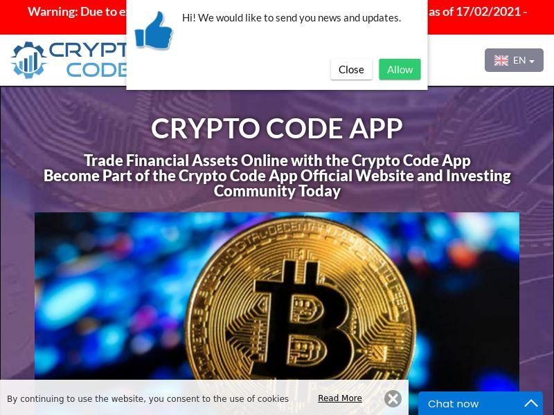 Crypto Code App Russian 2911