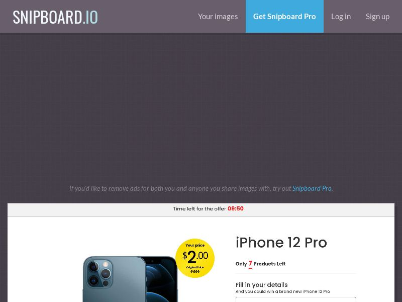 42789 - PT - SmartTest - iPhone 12 Pro (Timer) - CC submit